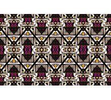 Abstract Geometric Modern Seamless Pattern Photographic Print
