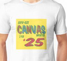 Sofa Size Canvas Unisex T-Shirt