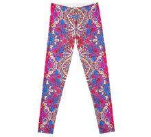 Colorful Ornate Decorative Pattern Leggings