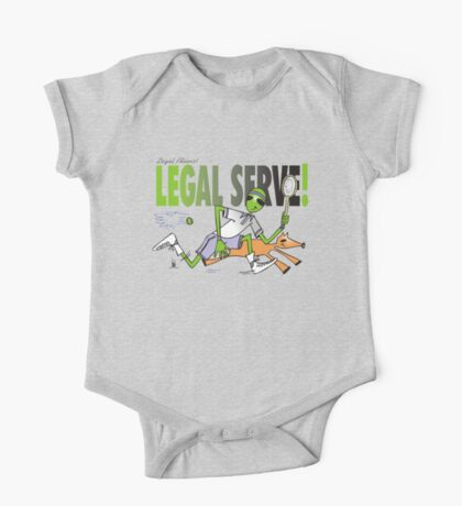 legal serve One Piece - Short Sleeve