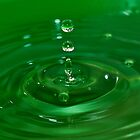 Green Drop by LauraBenassi