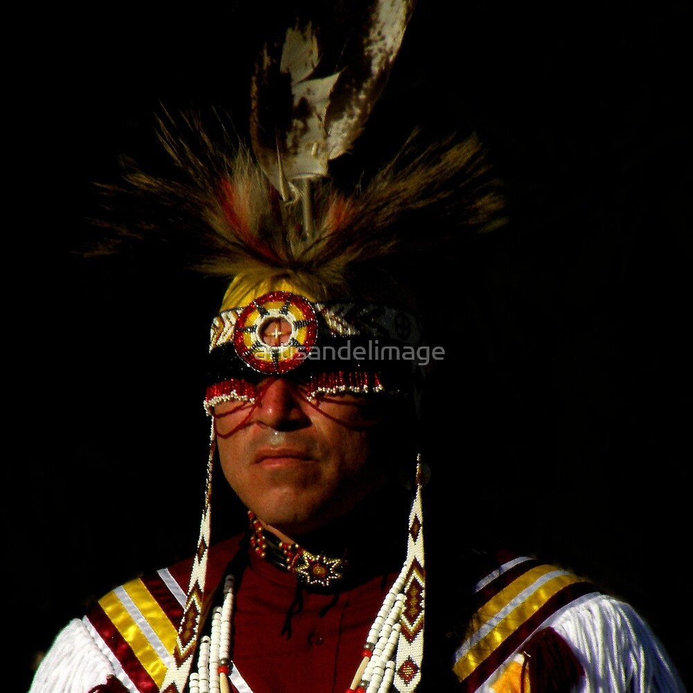 Native Portrait ~ Part Two by artisandelimage