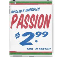Unbridled Passion Supermarket Series iPad Case/Skin