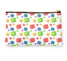 Colorful cubes pattern Studio Pouch