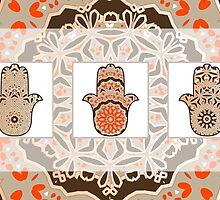 Red hamsot card by amekamura