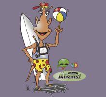 alien surf Kids Clothes