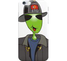 alien fireman iPhone Case/Skin