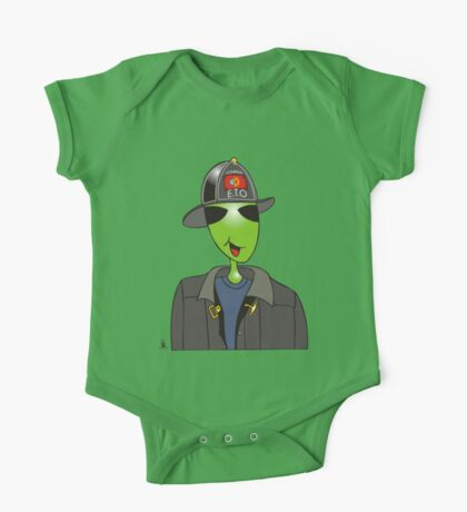 alien fireman One Piece - Short Sleeve
