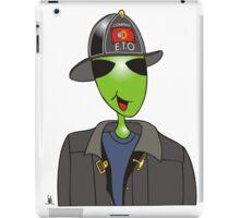 alien fireman iPad Case/Skin