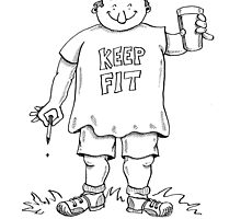 keep fit by Kerina Strevens