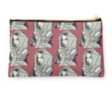 Hooded Lady Red Studio Pouch