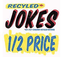 Recycled Jokes Supermarket Series Photographic Print