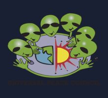 alien peace council  Kids Tee