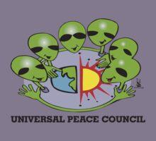 alien peace council  Kids Clothes