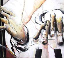 Music-hands fresco-style - part1 by Philip Gaida