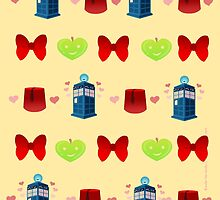 Whovian patten print edition by DixxieMae