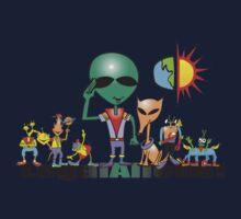 alien crew Kids Tee
