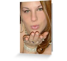 """""""A Kiss For You"""" Greeting Card"""
