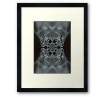 The Hitchcock Fractal Framed Print
