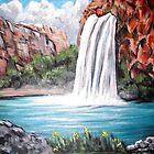 Havasu Falls by Pamela Plante
