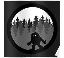 Sasquatch By Night  Logo-1 Poster