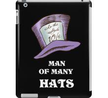 Man Of Many Hats iPad Case/Skin