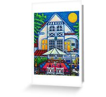 The Little Festive Danish House Greeting Card