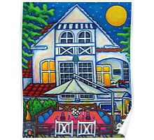 The Little Festive Danish House Poster