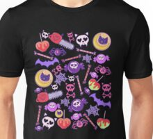 Creepy Cute Pattern Unisex T-Shirt