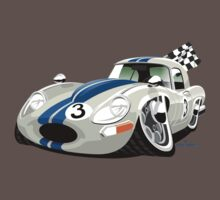E-Type Jaguar Series 1 lightweight caricature T-Shirt