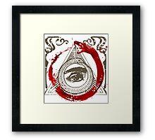 Ouroboros Framed Print