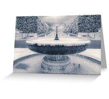 Memorial Fountain Greeting Card