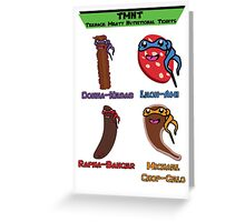Teenage Meaty Nutritional Tidbits - The Team Greeting Card