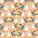 Valentine pattern of rabbits by Tanor