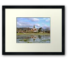 Alfriston Church Framed Print