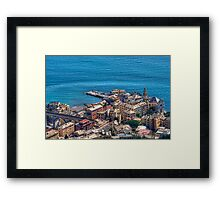 Ligurian Coast Framed Print