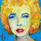 Marilyn - Acrylic Contemporary Painting by Jacquie Gouveia