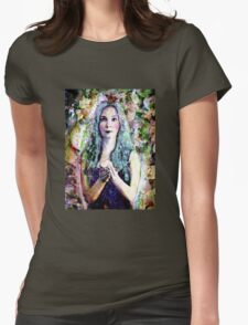 A light in the labyrinth of life Womens Fitted T-Shirt