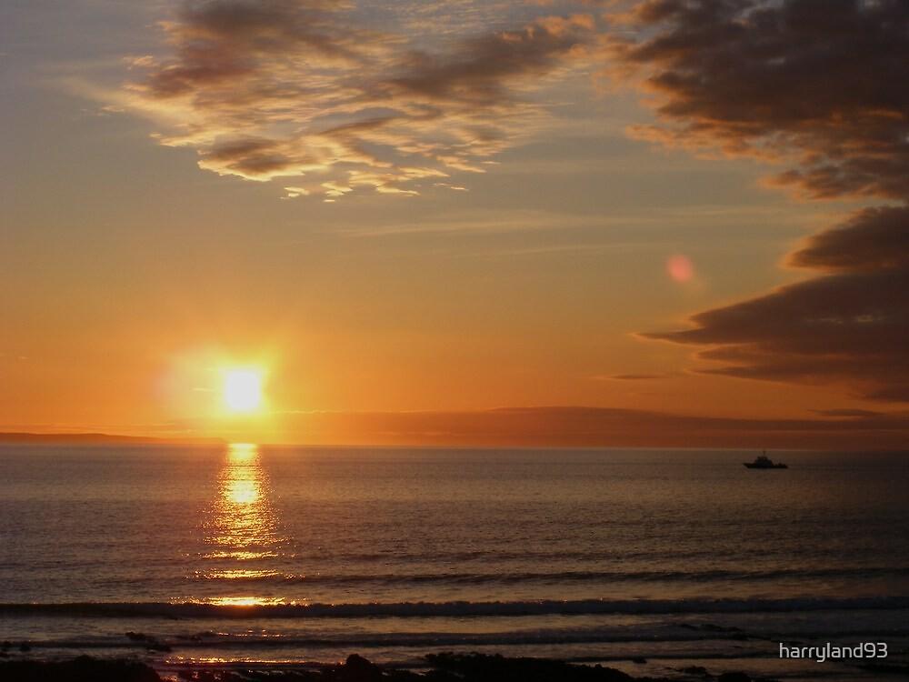 croyde bay sunset by harryland93