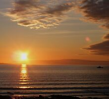 croyde bay sunset by harryland93