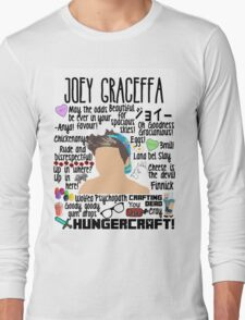 Joey Collage hat Long Sleeve T-Shirt