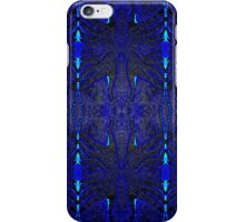 Blue Erotic Psychedelia iPhone Case/Skin