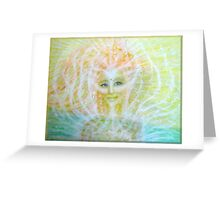 Angel of healing Greeting Card