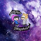 Dan and Phil Galaxy  by phanforlife