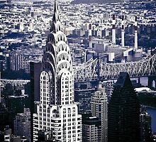 NYC - Chrysler Building by Jen Wahl