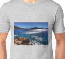 Morning Light in Nimborio Bay Unisex T-Shirt