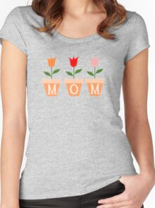 MOM Women's Fitted Scoop T-Shirt