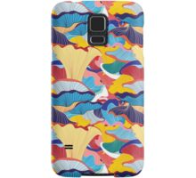 pattern of mushrooms Samsung Galaxy Case/Skin