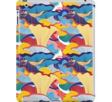 pattern of mushrooms iPad Case/Skin
