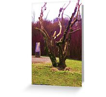 Contorted Limbs Greeting Card